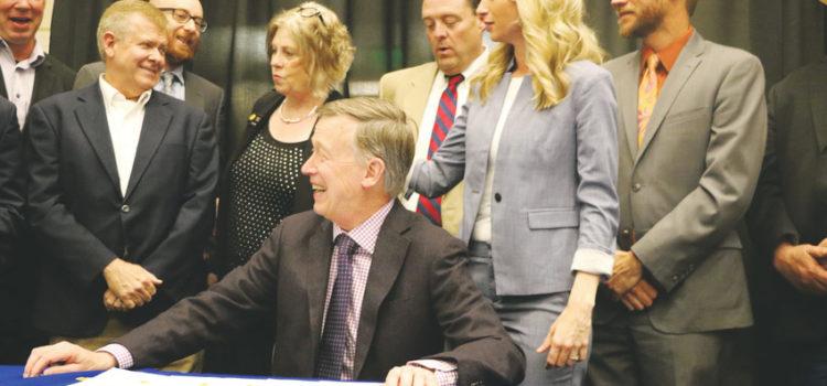 Hickenlooper signs health care bills at Lutheran